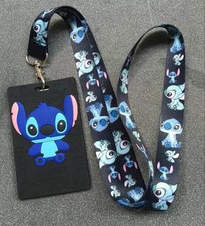 Portagaffete Stitch, Mickey, Minnie, Mike, Etc Regalos