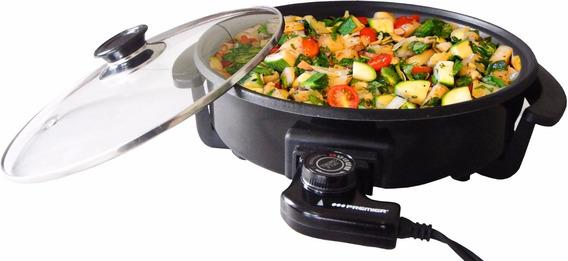 Sarten Electrica Olla Winco W-52 Multicocina 5 Niveles Grill
