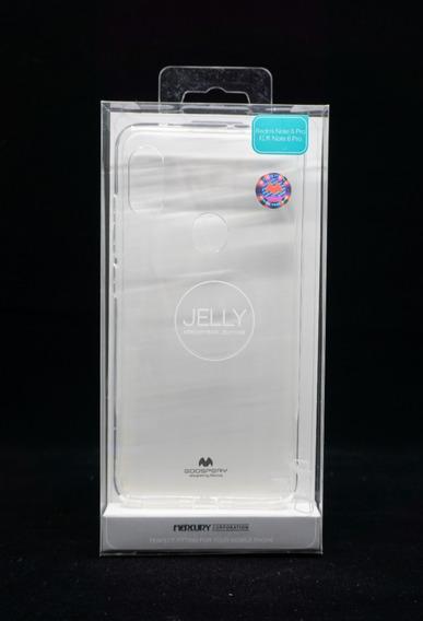Funda Xiaomi Redmi Note 6pro Mercury Goospery Transparente