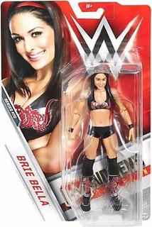 Figura Luchadora Wwe Diva Brie Bella . Bella Twins Serie 70