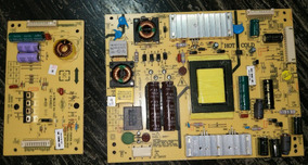 Placa Fonte + Inverter Tv Semp Toshiba Dl3970(a) F + Cabos !