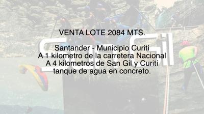 Venta Lote Curití Santander