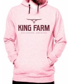 Blusa De Frio Moletom Country King Farm Super Promoção.