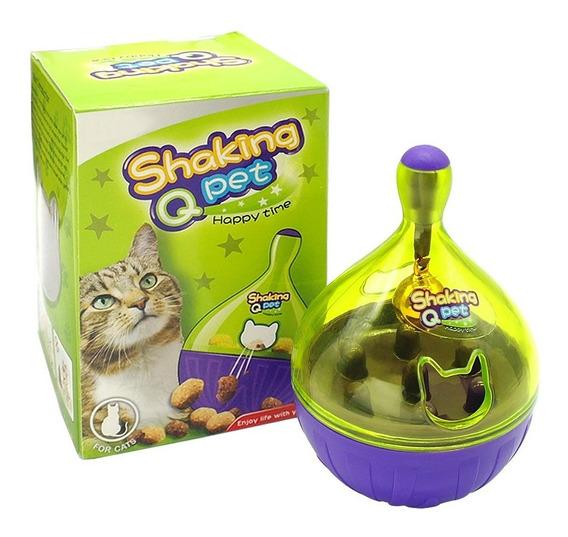 Comedouro Petisco Brinquedo Interativo Para Gato