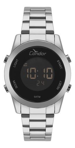 Relógio Condor Feminino Cobj3279ab/3p Digital Prata