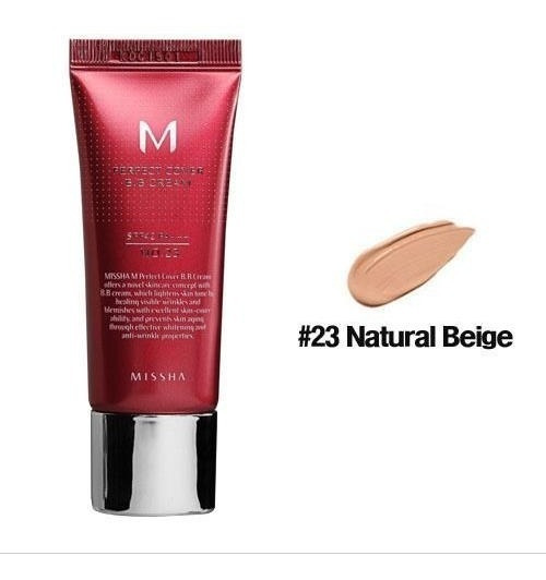 Perfect Bb Cream 50ml Missha Num 21, 23 E 27 Original