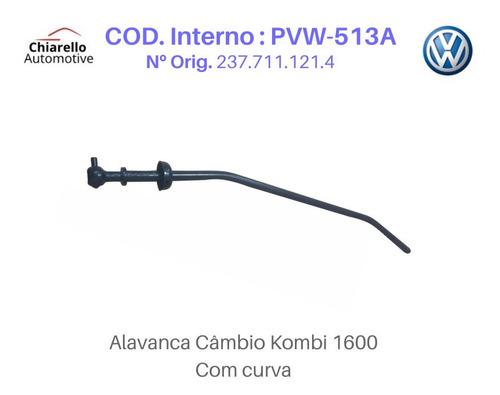Alavanca Kombi 1600 Tamanho Média Medida 47cm Com Curva