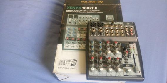Mesa De Som Xenyx 1002fx- Behringer