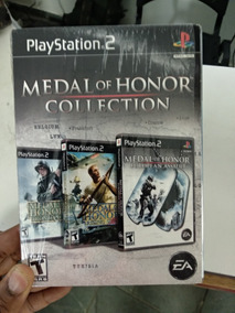Ps2 Medal Of Honor Collection Original Ps2 Ótimo Estado.