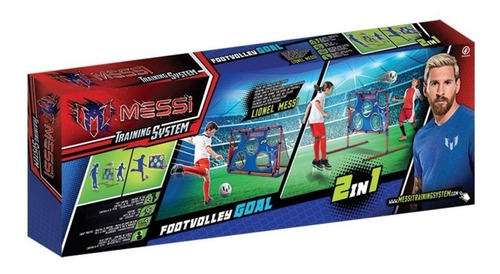 Footvolley Arco Y Red 2 En 1 Con Pelota De Messi Wabro