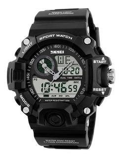 Reloj Skmei 1029 Analogico Digital Alarma Cronometro Unisex