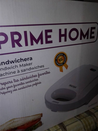 Sandwichera Prime Home Sm-820w