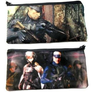 Cartuchera De Metal Gear Solid Ps3 Snake Raiden
