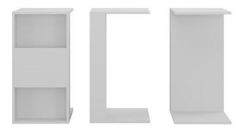 Mesa De Centro Multiusos Color Blanco 2717.0001