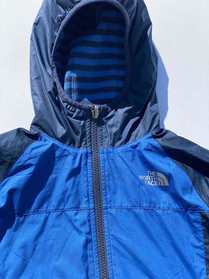 Chamarra North Face, Niño 7 / 8, Doble Vista, Rompe Vientos