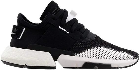 Tenis adidas Pod S3.1 Color Negro Con Blanco