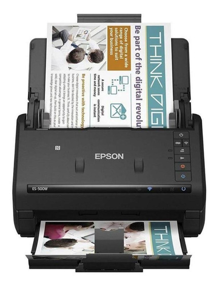 Scanner Epson Es-500w Workforce 600dpi Wifi B11b228201