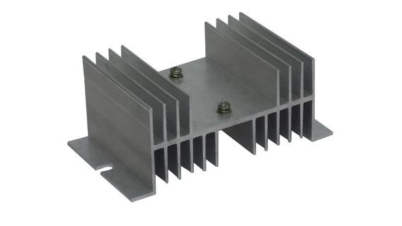 Dissipador De Calor Aluminio Para Relé Estado Sólido Ssr