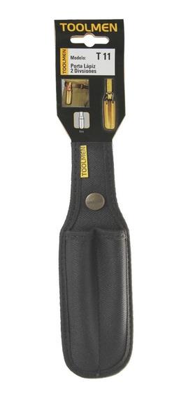 Porta Lápiz Lapiceras Para Cinturon Toolmen T11 Con Broche