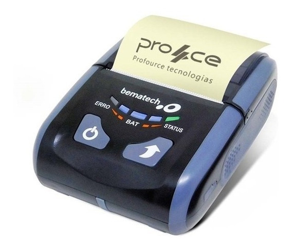 Impressora Portátil Térmica Bematech Pp-10b Usb Bluetooth