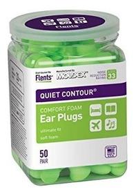Protetor Auricular Flents Quiet Contour Nrr 33 Db - 50 Pares
