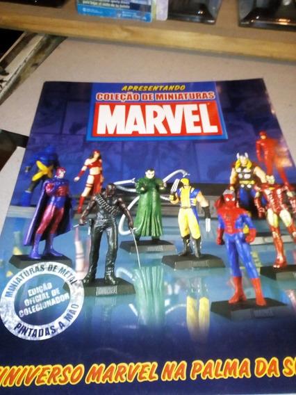 Marvel Catalogo Coleccion De Brasil Miniaturas Metal