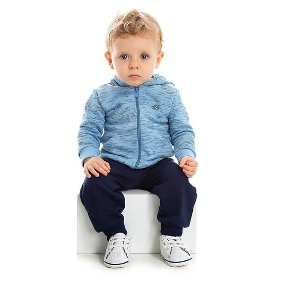 Conjunto Moletom Bebê Menino Inverno Infantil Calça E Blusa