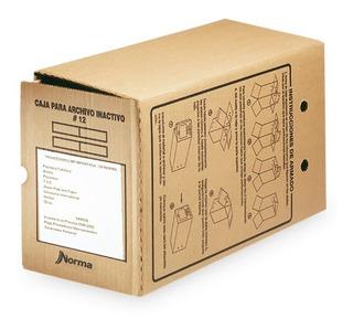 Caja De Archivo Inactivo No 12 Norma Carton