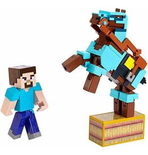 Figuras Minecraft Comic Maker 2-pack