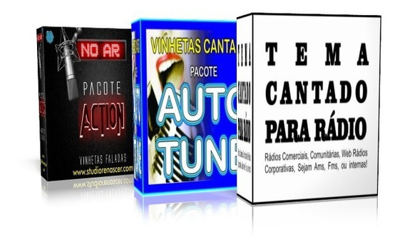 Vinhetas Cantadas - Pacote 3 Em 1 A (21 Vinhetas E 1 Tema)