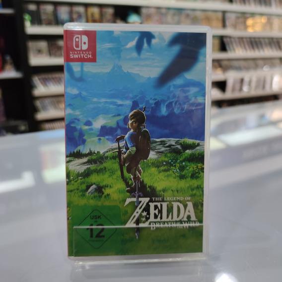The Legend Of Zelda Breath Of The Wild Switch - Seminovo