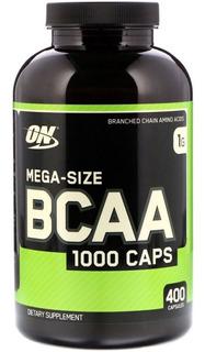 Bcaa Optimum Nutrition On (promoção) 400 Cap U.s.a Garantia