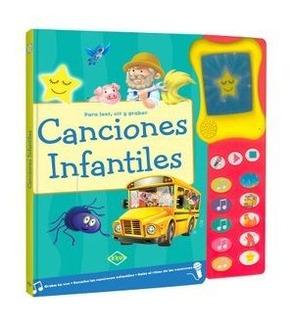 Canciones Infantiles Para Leer, Oir Y Gr - Grabar