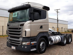 Scania R420 6x4 Prata 2011