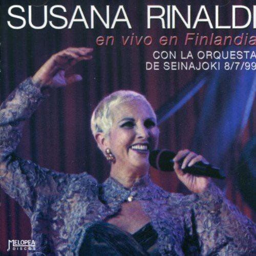 Susana Rinaldi - En Vivo En Finlandia - Cd