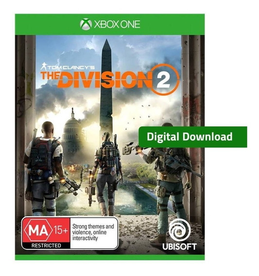 The Division 2 Xbox One Mídia Digital Código De 25 Dígitos