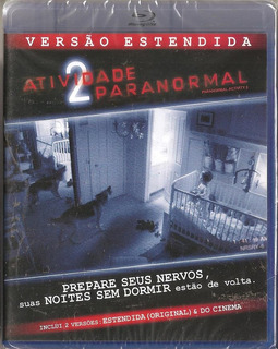 Blu-ray Atividade Paranormal 2 (versao Estendida+vrs Cinema)