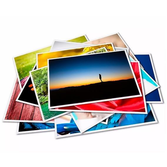 2000 Folhas Papel Fotográfico 10x15 Cm Brilhante 180g Prem