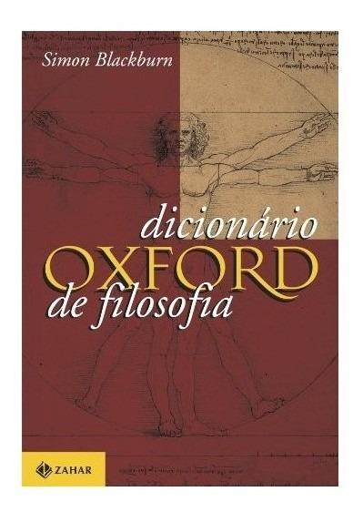 Livro - Dicionário Oxford De Filosofia
