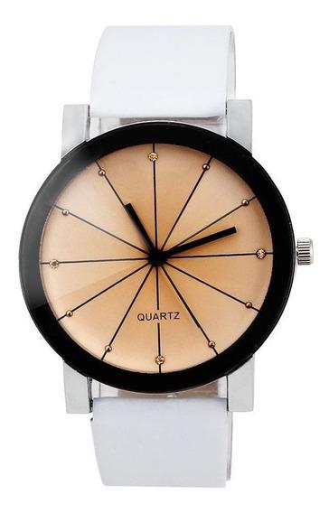 Relógio Feminino Geneva Quartz Casual Social Promoção