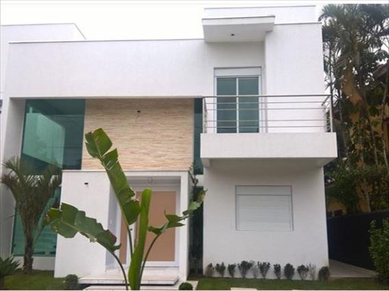 Ref.: 353 - Casa Condomínio Fechado Em Bertioga, No Bairro Guaratuba Costa Do Sol - 5 Dormitórios