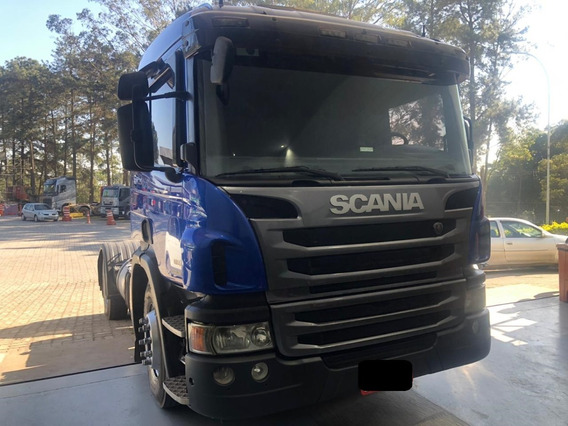 Scania P 360 2013 Motor 0km Só Trabalhou Na Cegonha
