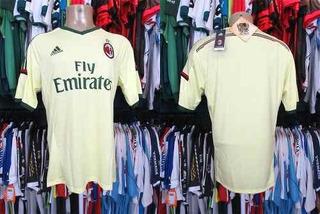Milan 2014 Terceira Camisa Tamanho G.