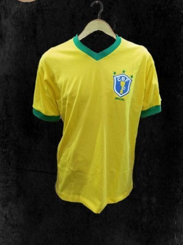 Camisa Seleção Brasileira Retrô 1982