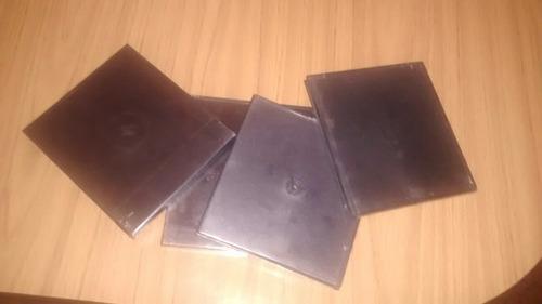 Cajitas Cd × 10 Unidades, Porta Cds Dvds Discos