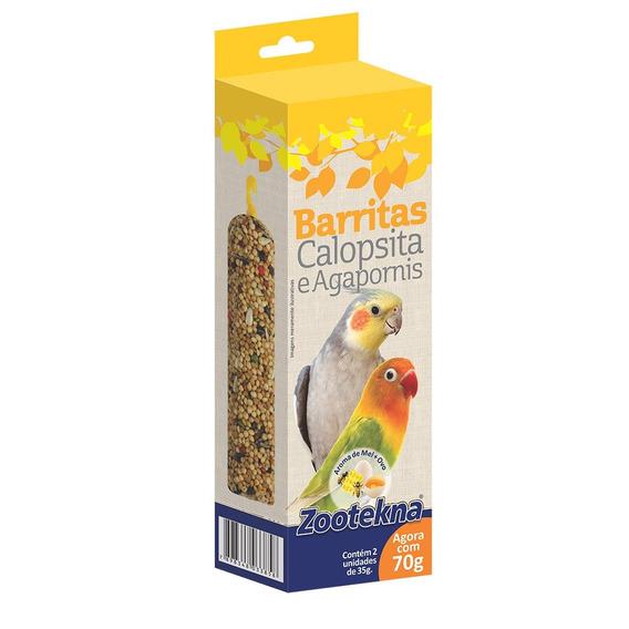 Alimento Zootekna Barrita Calopsita - 60gr
