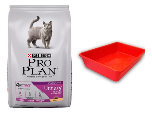 Imagen 1 de 1 de Alimento Pro Plan Urinary Gatos 7.5 Kilos+bandeja Sanitaria