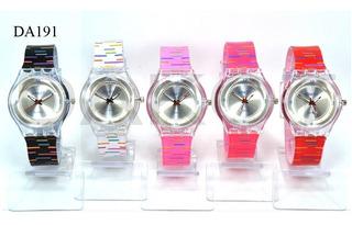Reloj Dakot Tipo Swatch Oferta P/ Dama Garantia Plaza Once!!