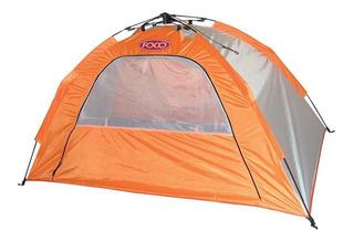 Carpa Playera Aluminizada Foco Easy Tent 195x120x95 Cm Mm