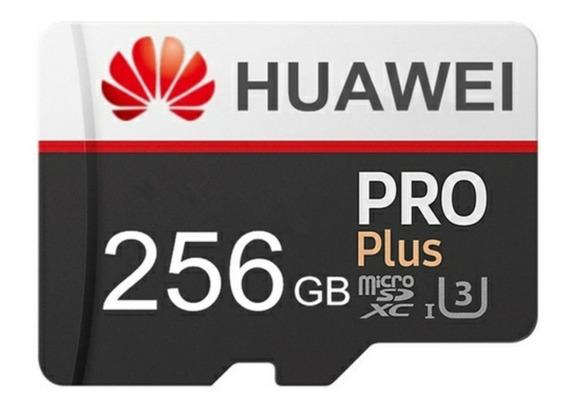 Cartão De Memória Microsd Huawei 256gb + Brinde